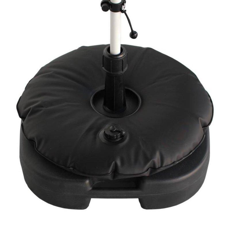 Base rellenable de Beachflag con bolsa de agua negra