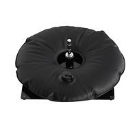 Ground plate, black with black water bag