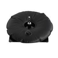 Placa de base, preto com saco de água preto