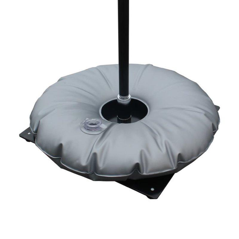 Metalfod, sort med vandpose grå