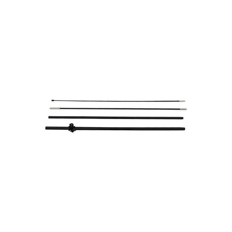 Beach flag pole S, black