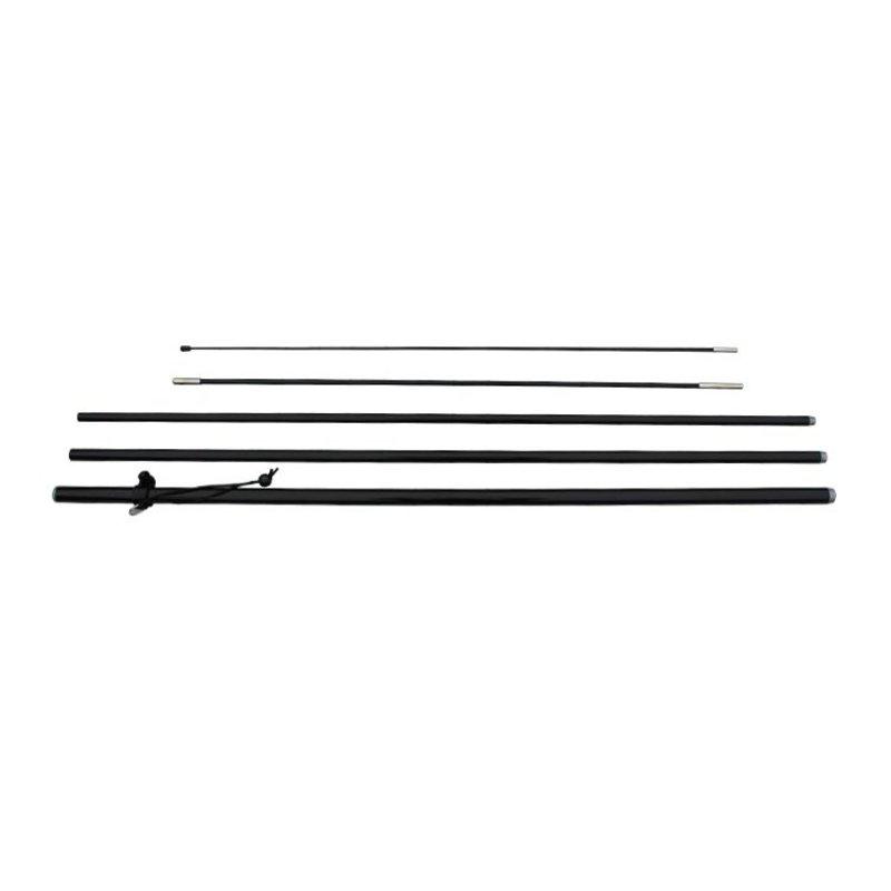Beachflag mast L, zwart