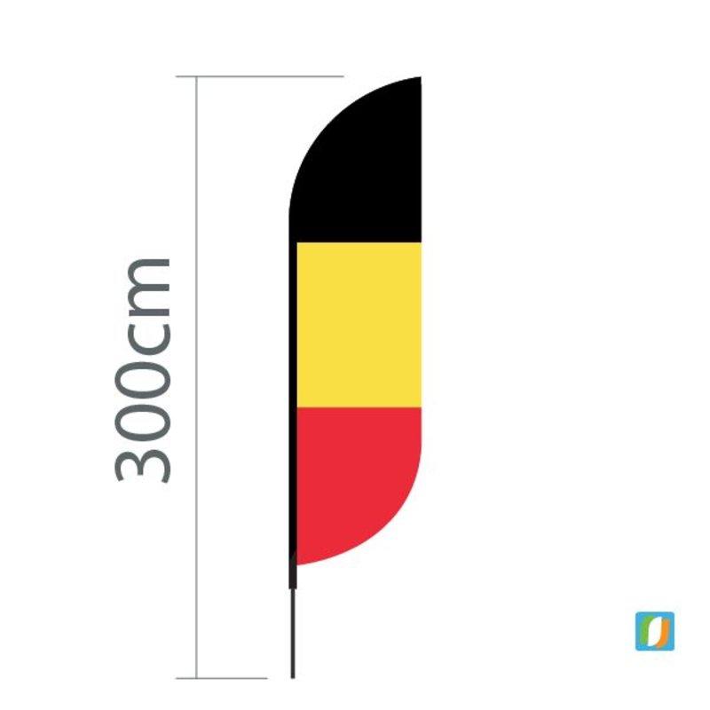 Beach flag Belgium