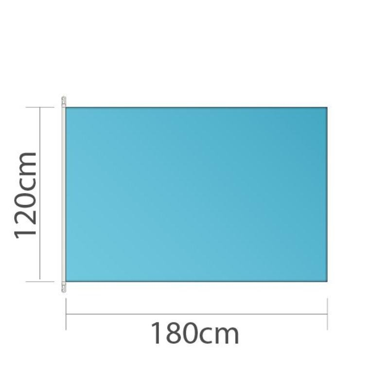 Flag, 120x180cm, trykt i fuld farve