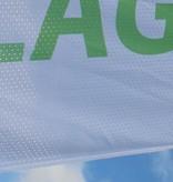 Bandieras, bandiere stampate a colori