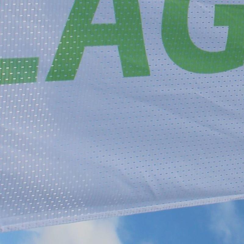 Flaggen, vollfarbig gedruckte Flagge