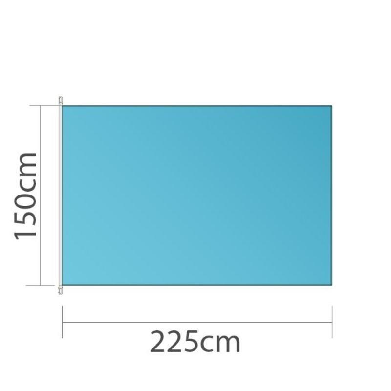Bandeira, 150x225cm, impressão a cores