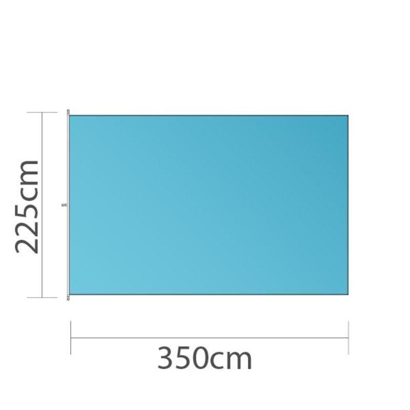 Bandera, 225x350cm, impresa a todo color
