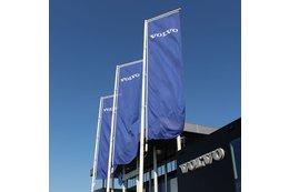 Banderas verticales publicitarias