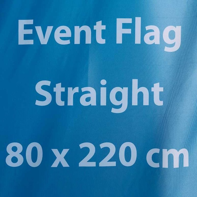 Beach flag Event (delivery time 4-6 working days)
