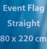 Beachflag Event S - 80x220cm (tiempo de entrega 4-6 días laborables)