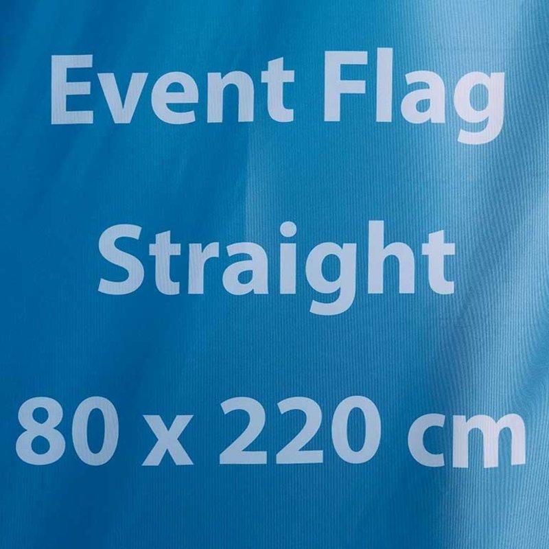 Beach flag Event S - 80x220cm (tempi di consegna 4-6 giorni lavorativi)