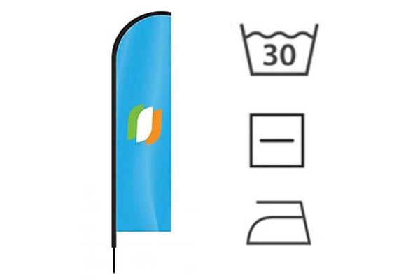 Beachflagge pflegen: Tipps, um Ihre Beachflagge schön zu halten