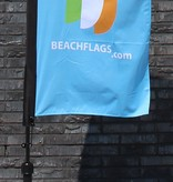 "Beach flag Straight XS - 60x186cm (24"" x 73"")"