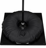 Ground plate, heavy, black