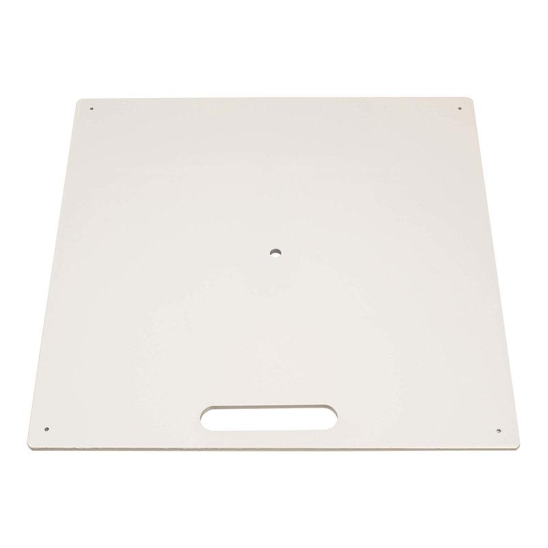 Bodenplatte, heavy, weiß