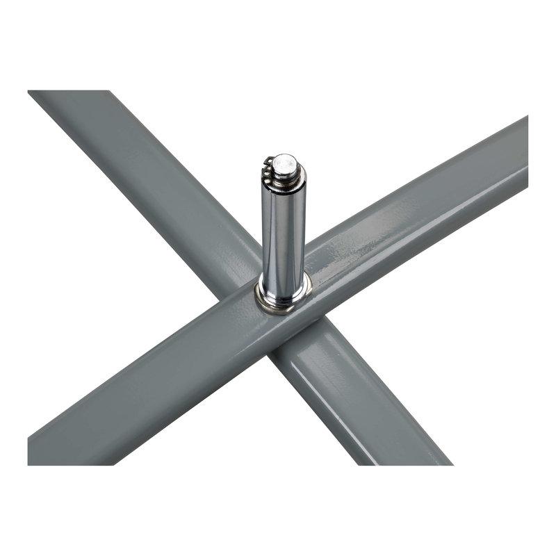 Cross base, grey