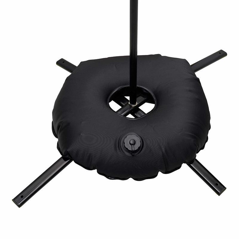 Standard cross base, black