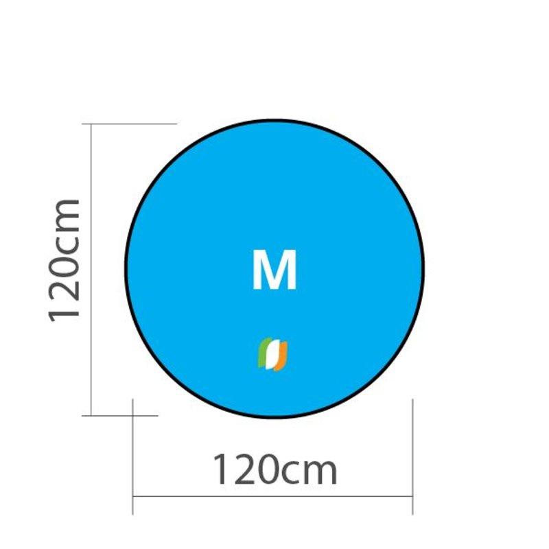 Beach banner Round - M 120x120cm