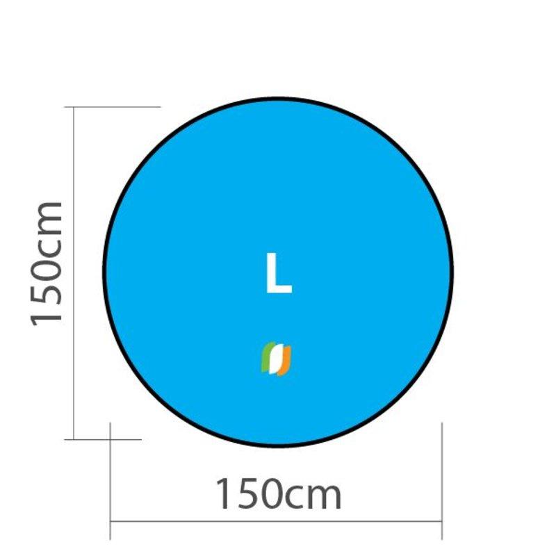 Beachbanner Round - L 150x150cm