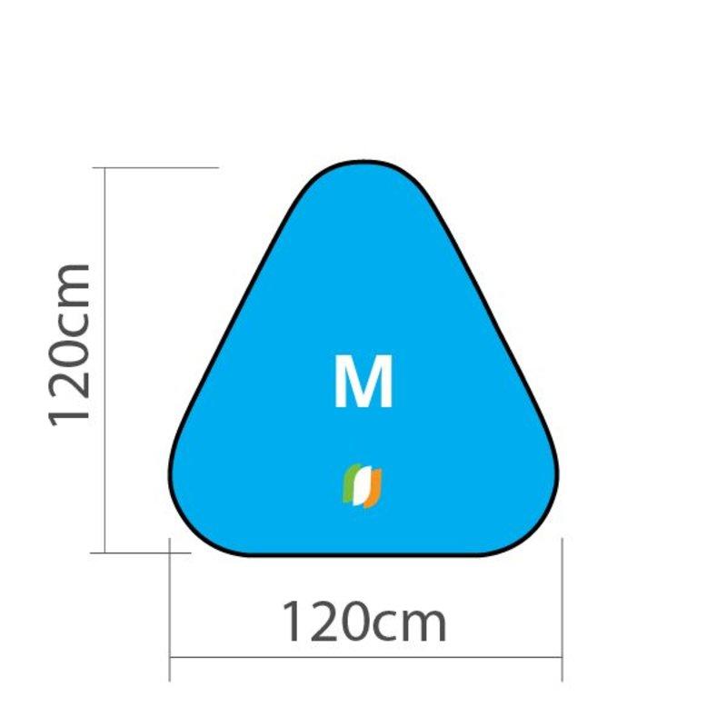 Beach banner Triangle - M 120x120 cm