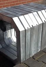 Set van 5 cavaletti's inclusief balken