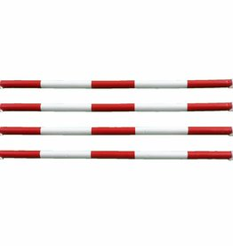 Hindernisbalk *Pro serie* - rood & wit