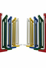 Voordeelset van 10 hindernisvleugels - aluminium