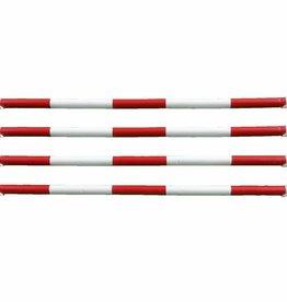 Hindernisbalk *Budget serie* - rood & wit
