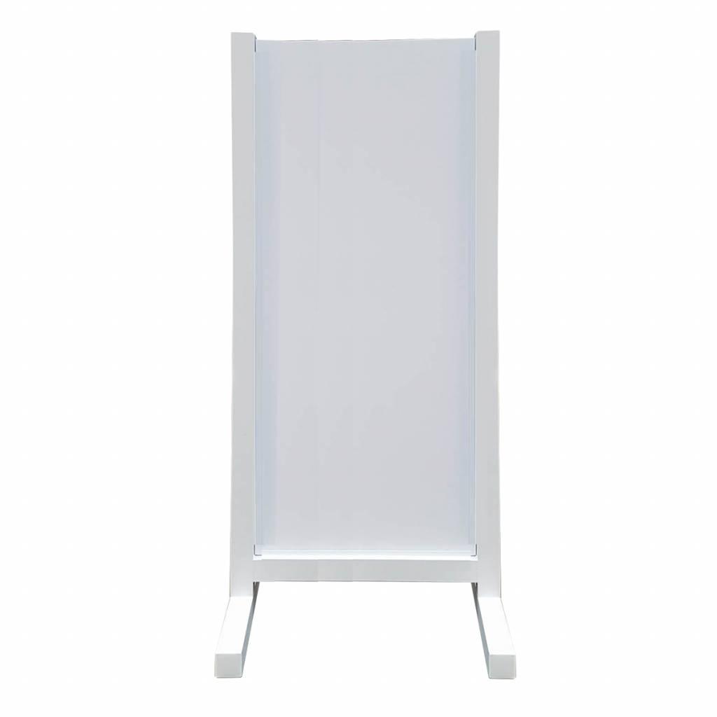 aluminium reclamevleugel - Model U