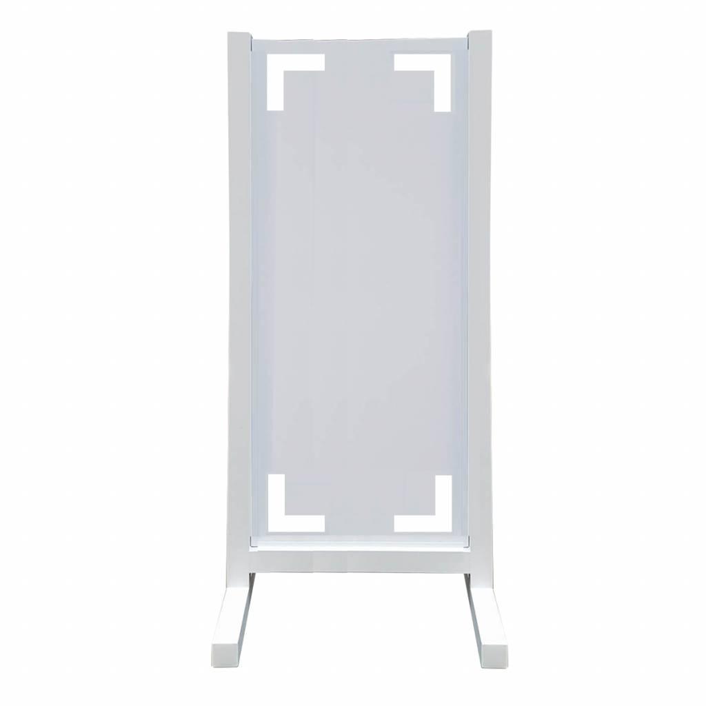 Aluminium reclamevleugel - Model Zoom