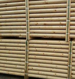 Kernhouten hindernisbalk ongeverfd - 3 meter