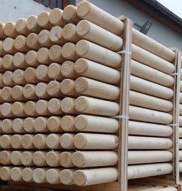 Kruishouten hindernisbalk 3,5 meter ongeverfd