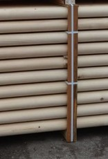 Kruishout hindernisbalk 3,5 meter  ongeverfd