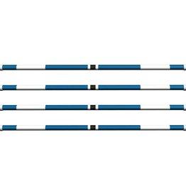 Hindernisbalk *Basic serie* blauw, zwart & wit
