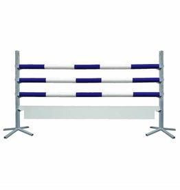 Basic Hindernis met plank - blauw/wit