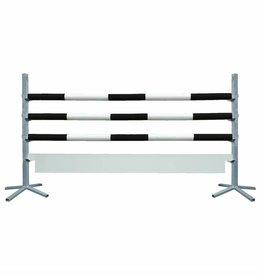 Basic Hindernis met plank - zwart/wit