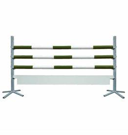 Basic Hindernis met plank - groen/wit