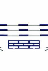 2 staanders + 3 balken + 1 onderzetdeel + 6 lepels