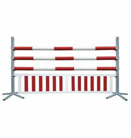 Basic Hindernis met hanghek - rood/wit