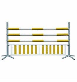 Basic Hindernis met hanghek - geel/wit