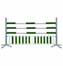 Basic Hindernis met hanghek - groen/wit