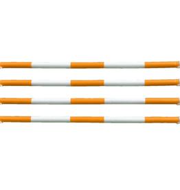Hindernisbalk *Budget serie* - oranje & wit
