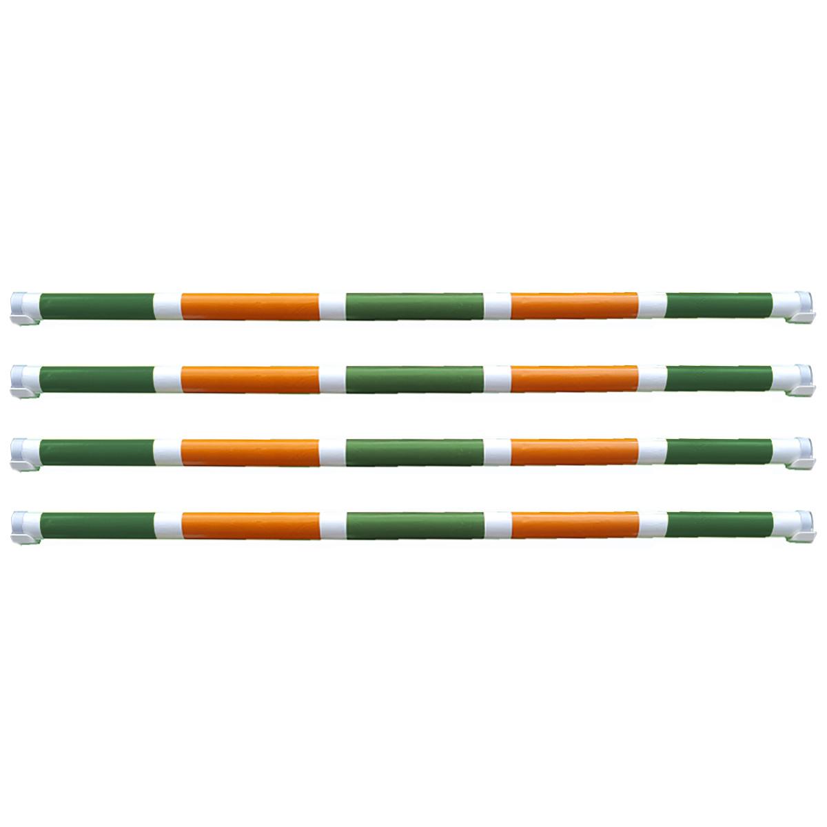 Hindernisbalk *Basic serie* groen, wit, oranje