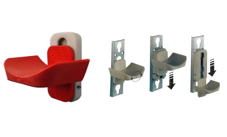 Veiligheidslepel + adapter - FEI / KNHS Goedgekeurd