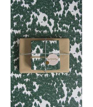 Wold-waar  winters inpakpapier