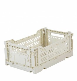 Folding Crate Eef Lillemor Mini Light Grey