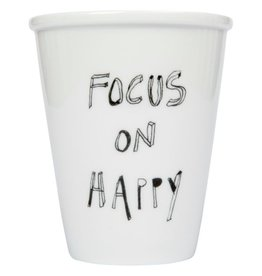 Helen B design Helen b design Focus on Happy koffie beker
