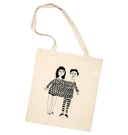 Helen B design Tote bag ' happy together '