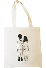 Helen B design Helen B tote bag Nacked couple